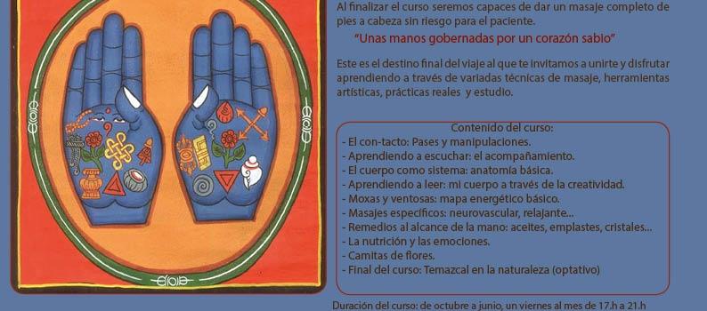 CURSO DE INICIACIÓN AL MASAJE TRADICIONAL MEXICANO