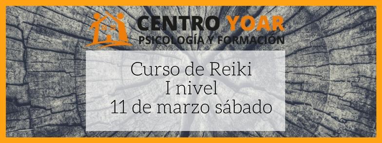 Curso de formación de Reiki Yoar Logroño