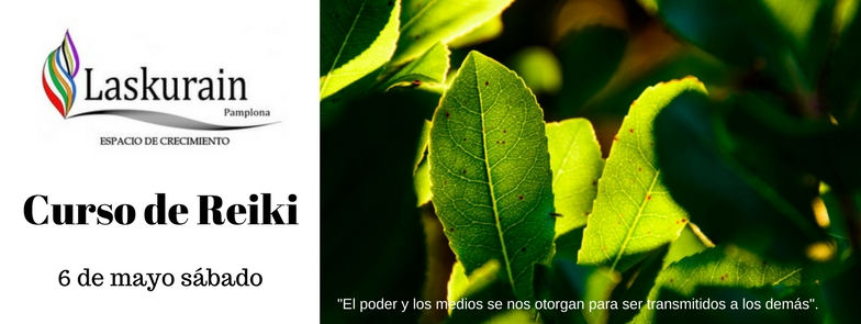 Curso de Reiki Laskurain Pamplona